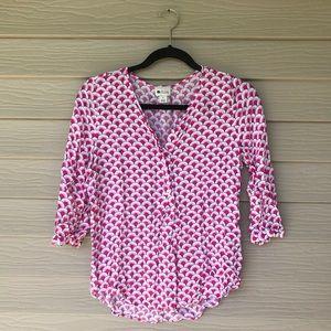 Fun patterned dressy top